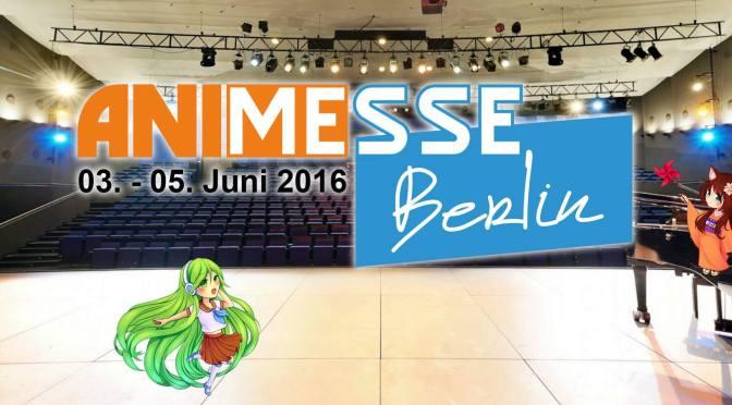 Anime Messe Berlin 2016 – Erste Ehrengäste und Vorverkauf startet